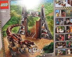 Lego Jurassic Park T. Rex Rampage NO MINIFIGURES Set 75936 Gate Dino NIB 2019