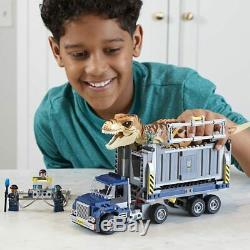 Lego Jurassic World 75933 T-REX TRANSPORT Trex Dinosaur Park Baby Dino Zia NEW