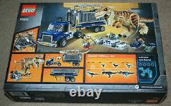 Lego Jurassic World 75933 T. Rex Transport New and Sealed Fast Free Shipping