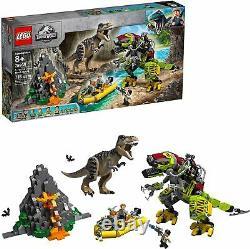Lego Jurassic World 75938 T. Rex vs Dino-Mech Battle 716 Pieces Brand New