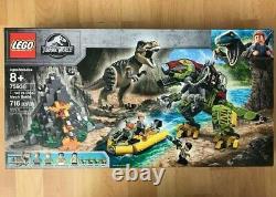 Lego Jurassic World 75938 T. Rex vs Dino-Mech Battle Brand New-GET IT BY XMAS