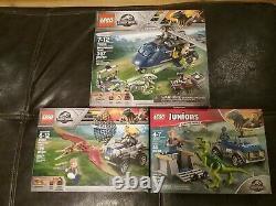 Lego Jurassic World Lego Sets #75929, 75931, 10758 T-rex, 10757 Raptor, 75928 ++