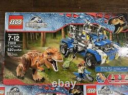 Lego Jurassic World Lot of Sealed Sets T. Rex Tracker Dilophosaurus Pteranodon