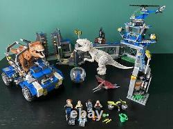 Lego Jurassic World Park 75918 75919 T-Rex Tracker Indominus Rex Breakout Sets