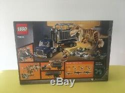 Lego Jurassic World T Rex Transport 75933 New Factory Sealed Box