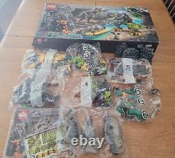 Lego Jurassic World T. Rex vs. Dino-Mech Battle 75938 New in Sealed Bags