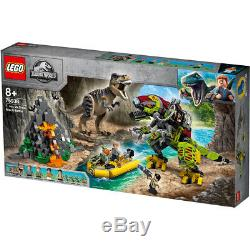 Lego Jurassic World T-Rex vs Dino Mech Battle Building Set 75938