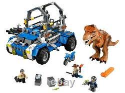 Lego Jurassic world T Rex Tracker 75918 With Box, Dinosaur, minifigures