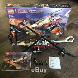 Lego Set 7477 Dino Attack T-1 Typhoon Vs. T-Rex Dinosaur Helicopter With Box