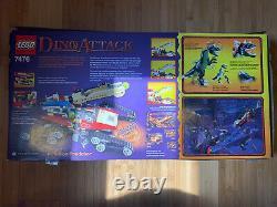 Lego dino attack iron predator vs t-rex complete set