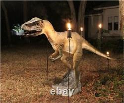 Life Size Allosaurus Dinosaur Statue Jurassic Park Mini Golf Sculpture Not T Rex