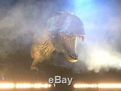 Lifesize Animatronc T-Rex Dinosaur for Haunts, Theme Park, Stage Show, House