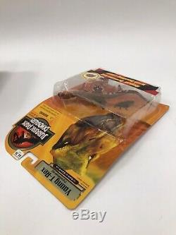 Lot of 3 Hasbro Jurassic Park Dinosaurs 3 III T-Rex Triceratops Velociraptor New