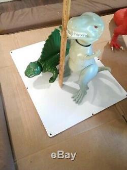 MEGO toys Vintage One Million Years BC Sailback and T-Rex Dinosaur 70's RARE