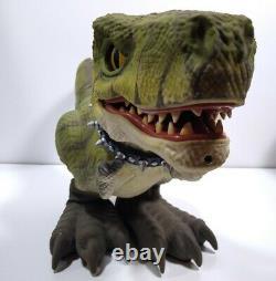 Mattel D-Rex T-Rex Prehistoric Pets Interactive Dinosaur with Bone Remote read