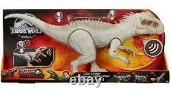 Mattel Jurassic World Dinosaur Rivals DESTROY N DEVOUR INDOMINUS REX T-REX TOY