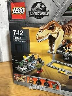 NEW / BOXED / Sealed LEGO 75933 Jurassic World T. Rex Transport Dinosaur Retired