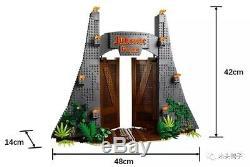 NEW Jurassic Park T Rex Rampage Compatible 75936 Building Blocks