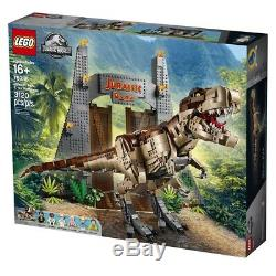 NEW LEGO 75936 JURASSIC PARK T Rex Rampage NO MINIFIGURES BUILD ONLY