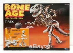 NEW MISB SEALED Vtg 1988 Kenner Bone Age 16 T-REX Dinosaur (Tyrannosaurus Rex)