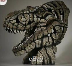 NIB 20 T-REX Bust Sculpture DINOSAUR THE EDGE Figure Matt Buckley Enesco Statue