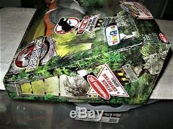 NIB MIP 2009 Jurassic Park HUGE ToysRUs SUPER RARE! Orange Roaring BULL T-REX