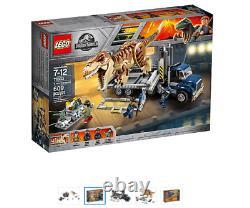 New LEGO 75933 JURASSIC WORLD FALLEN KINGDOM T. REX TRANSPORT