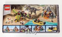 New LEGO Jurassic World 75938 T. Rex vs Dino-Mech Battle