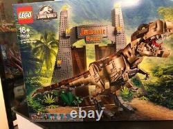 New LEGO Jurassic World Jurassic Park T. Rex Rampage 75936