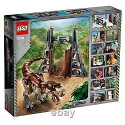 New LEGO Jurassic World Jurassic Park T. Rex Rampage 75936 Building Kit
