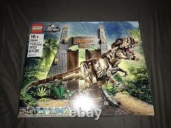 New LEGO Jurassic World Jurassic Park T. Rex Rampage Building Kit 75936