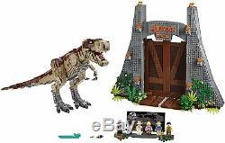 No Original Box LEGO Jurassic World 75936 Jurassic Park T. Rex Rampage New