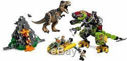 PRE-ORDER LEGO Jurassic World 75938 T. Rex vs Dino-Mech Battle