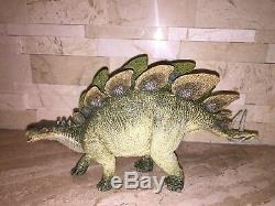 Papo Ultimate Dinosaur Set Triceratops Allosaurus T-rex Stegosaurus Spinosaurus