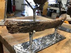 Partial Fossil Dinosaur T-Rex Fibula Cretaceous age /Hell Creek/ Montana