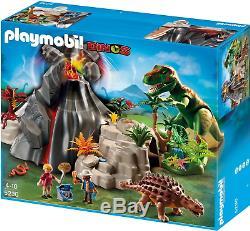 Playmobil 5230 Dinos Volcano with T-Rex Dinosaur NEW SEALED