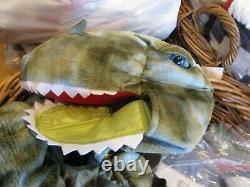 Pottery Barn Kids Halloween costume Dino T REX Dinosaur 4 6 New