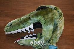 Pottery Barn Kids Light Up Green T Rex Dinosaur Halloween Costume 4-6 Years NEW