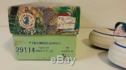 RARE NEW VTG 80s Converse Conasaur Collection Dinosaur Youth Shoes T-Rex SZ 1.5