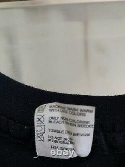 RARE Vintage 1983 Jurassic Park T-Rex Dinosaur Black T-Shirt Size Medium USA