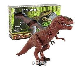 RC T-Rex Infrared Tyrannosaurus Rex Dinosaur Remote Control Light & Sound New