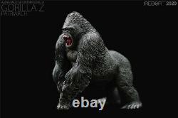 REBOR 1/35 Mountain Gorilla VS T-Rex Figure Dinosaur Model Collector Decor Gift
