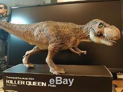 REBOR 1/35 Tyrannosaurus Rex T-Rex Killer Queen Dinosaur Model Animal Decor Toy