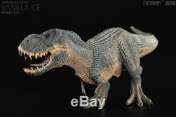 REBOR Jurassic Dino King Vanilla Ice Tyrannosaurus T-Rex Dinosaur PVC Statue New