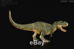 REBOR Jurassic Dino Vanilla Ice Jungle Tyrannosaurus T-Rex Dinosaur PVC Statue