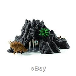 Schleich 42305 Giant Volcano With T-Rex (Dinosaurs) Plastic Figure Japan