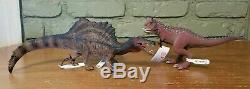 Schleich Dinosaur Lot of 13 Brachiosaurus T-Rex Spinosaurus Dunkleosteus NWT
