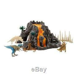 Schleich Dinosaurs Giant Volcano with T-Rex Volcano Dinosaur Dino Action Figure