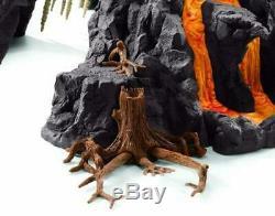 Schleich North America Giant Volcano with T-Rex Playset 42305 Dinosaur model