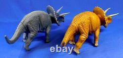 Sega Dinosaur King 6 Figure Lot T-rex, Triceratops, Stegosaurus 2005 Rare